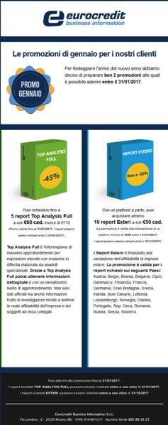Top Analysis Full e Report Estero in promozione